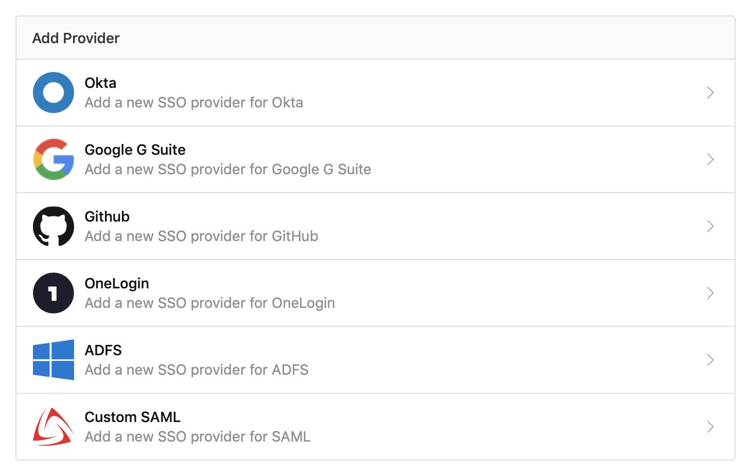 Screenshot of the Buildkite SSO Settings Page