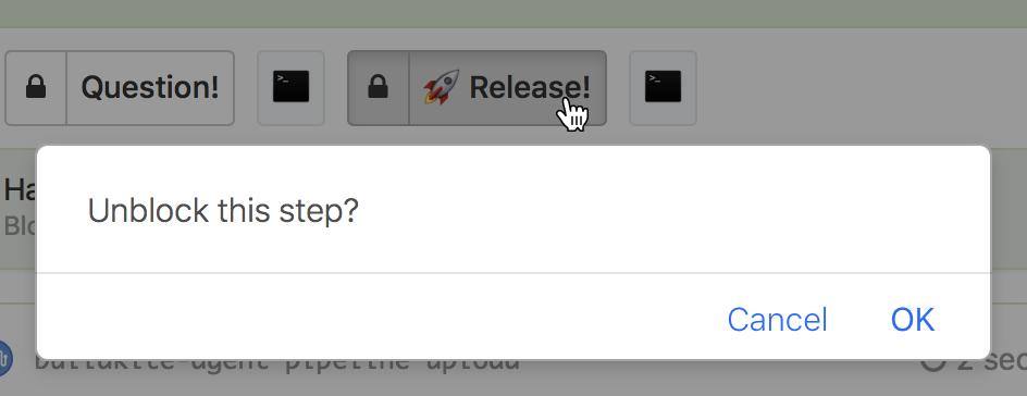 Screenshot of a basic block step