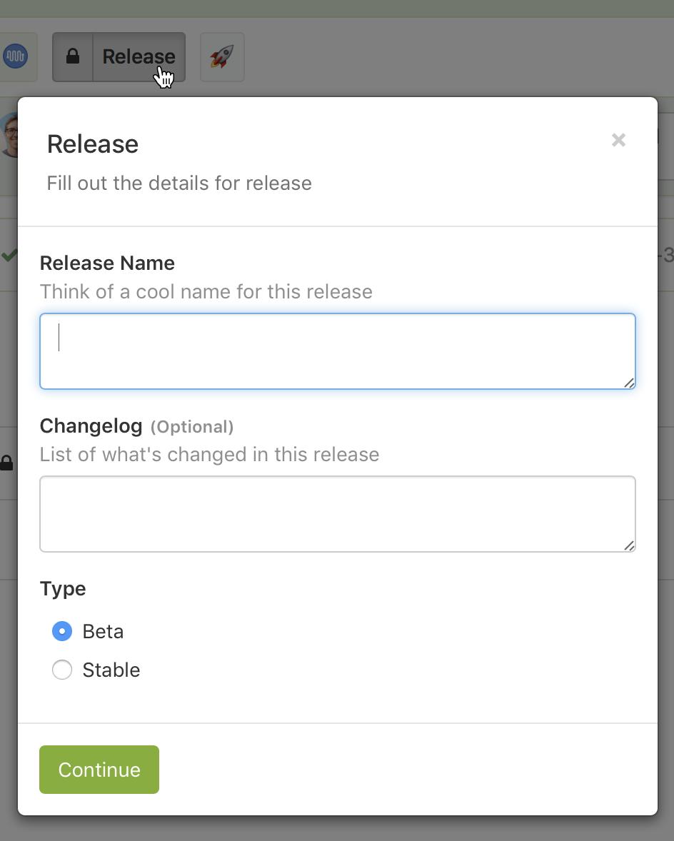 Screenshot of a block step with input fields